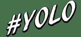 #yolo white Icon
