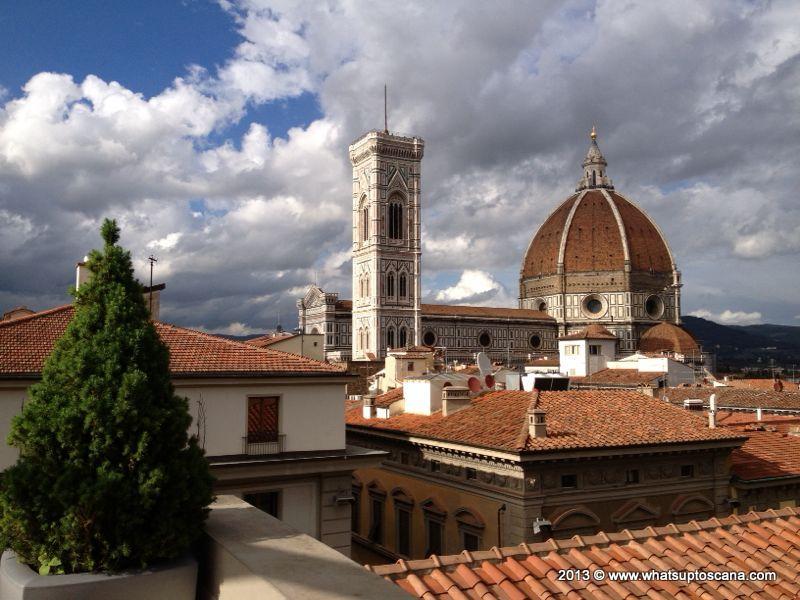 Caff La Terrazza Prendersi un caff sui tetti di Firenze