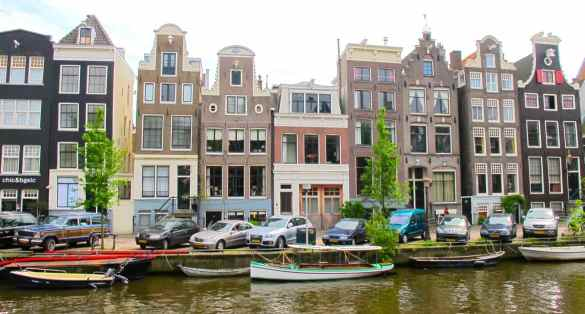 Car parking in Amsterdam
