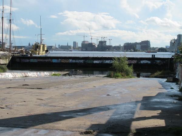 NDSM shipwharf ramp