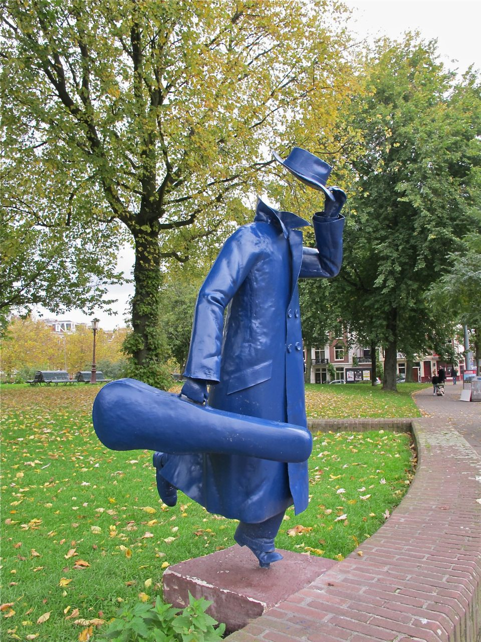 mystery of the sculptures Amsterdam