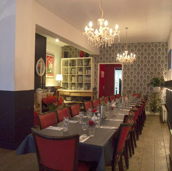 Saskia's living room restaurant
