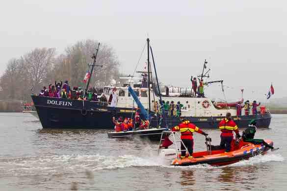 Arrival of Sinterklaas