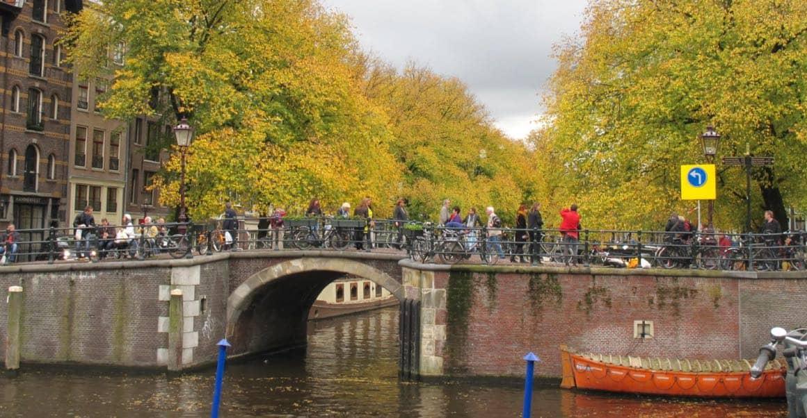 Amsterdam Jordaan autumn
