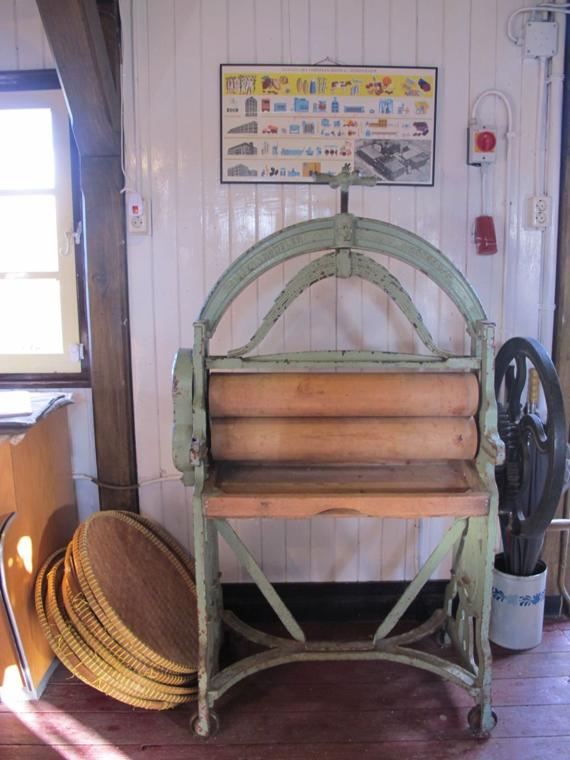 old machine zaanse schans