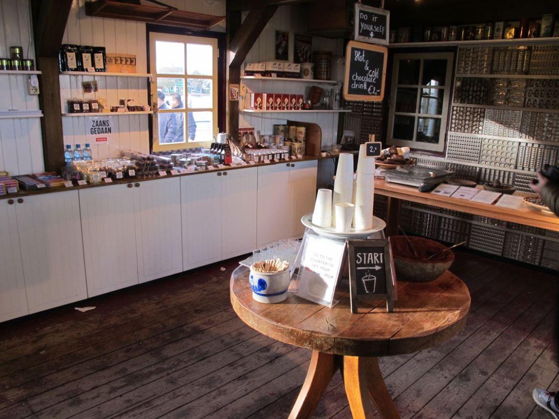 Chocolate shop Zaanse Schans