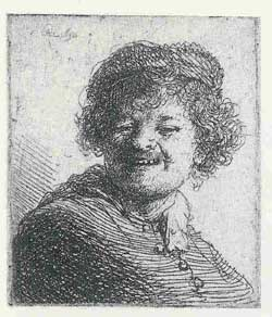 self portrait Rembrandt