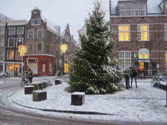 Christmas in Amsterdam