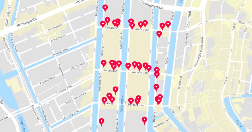 Amsterdam's 9 streets