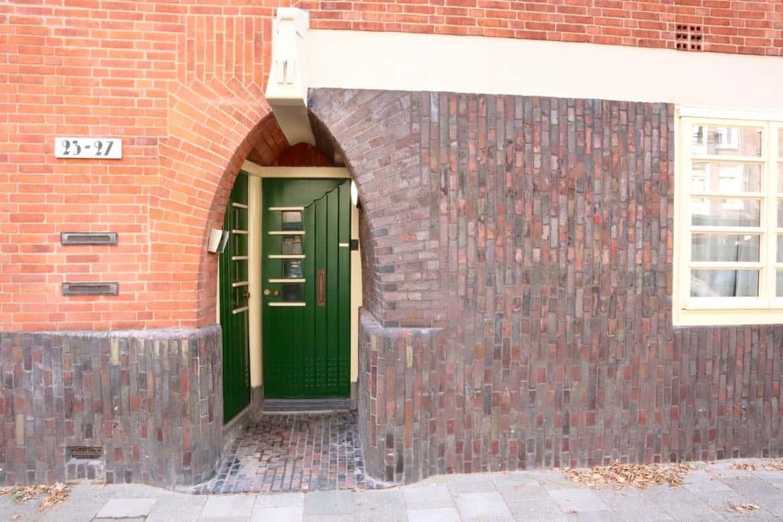 Amsterdam school door