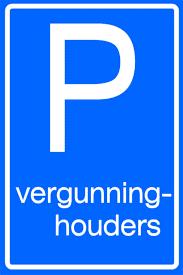 Parking license