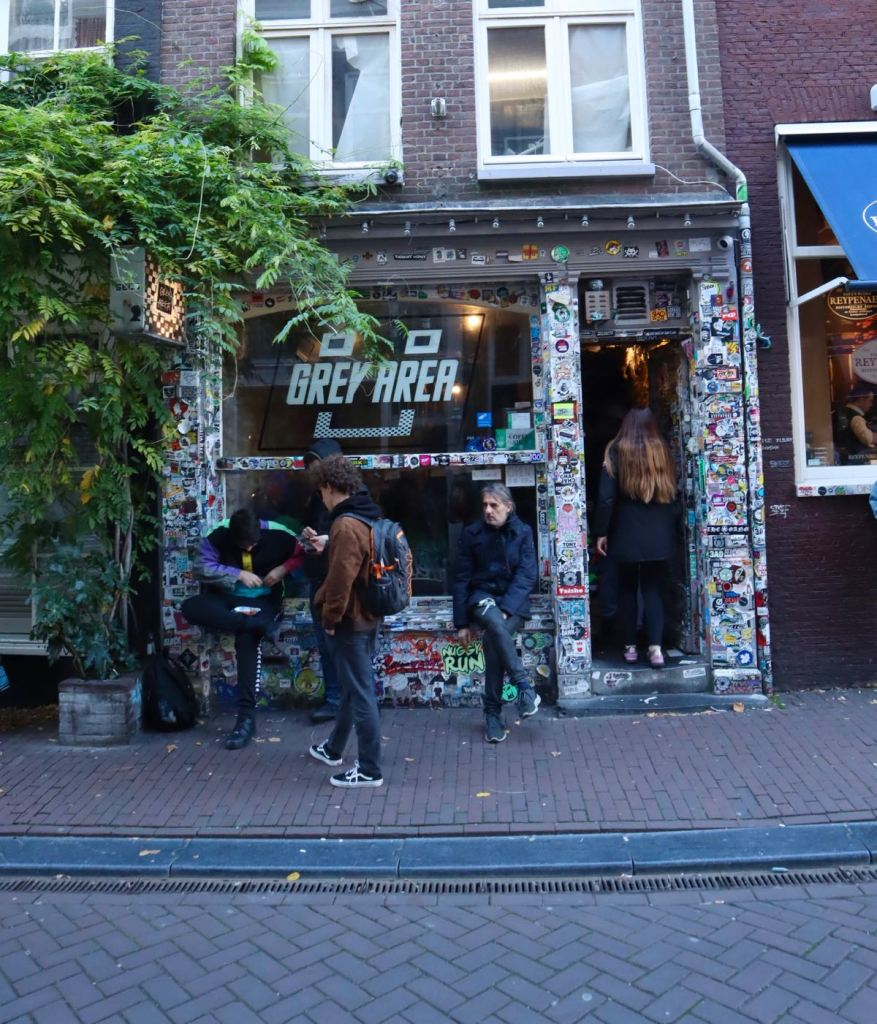Coffeeshop Grey Area Amsterdam