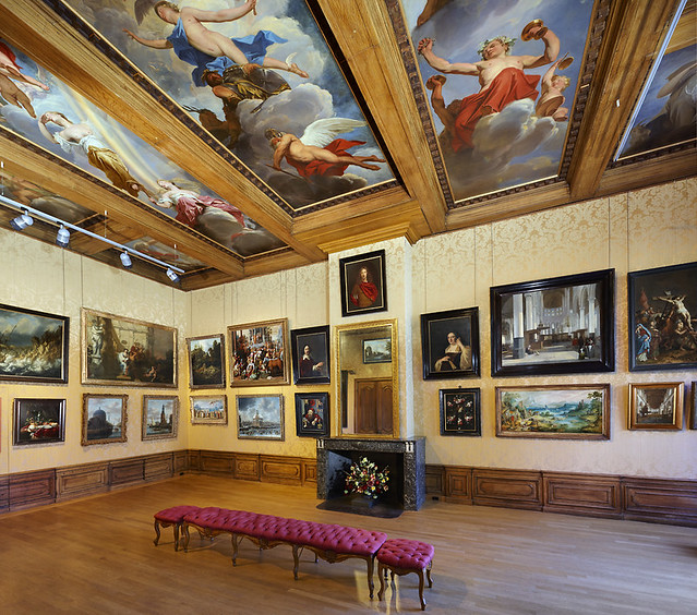 Salon at Cromhouthuis Museum, Amsterdam