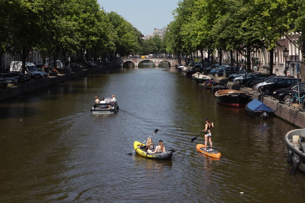 SUP in Amsterdam