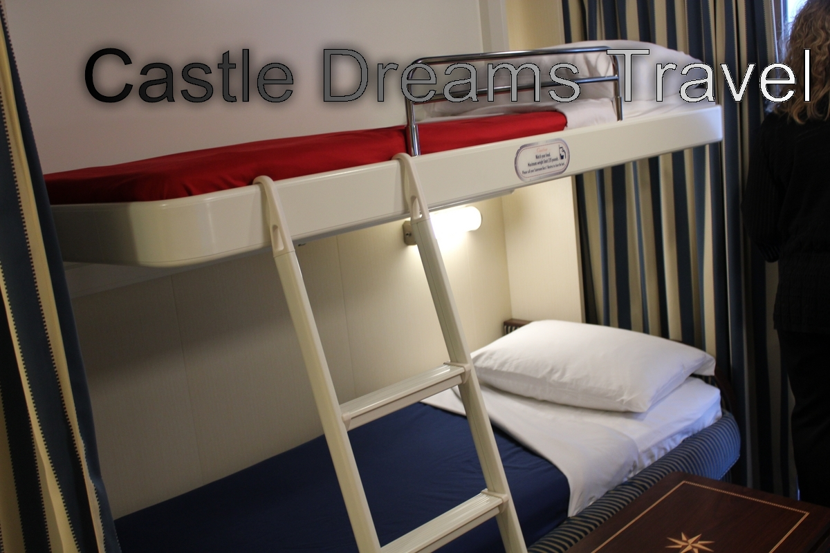 Disney Cruise Lines Fantasy a review of the staterooms