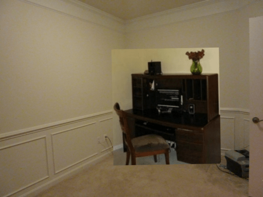 office room before