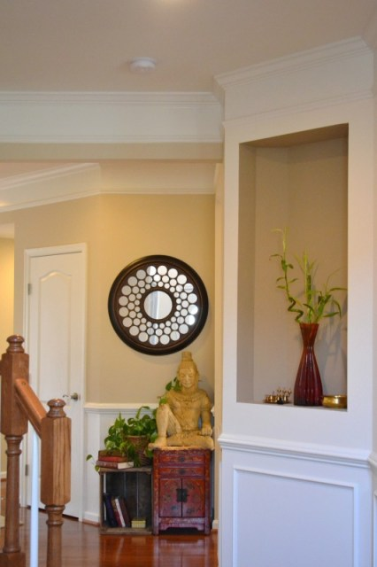 traditional indian decor, foyer update