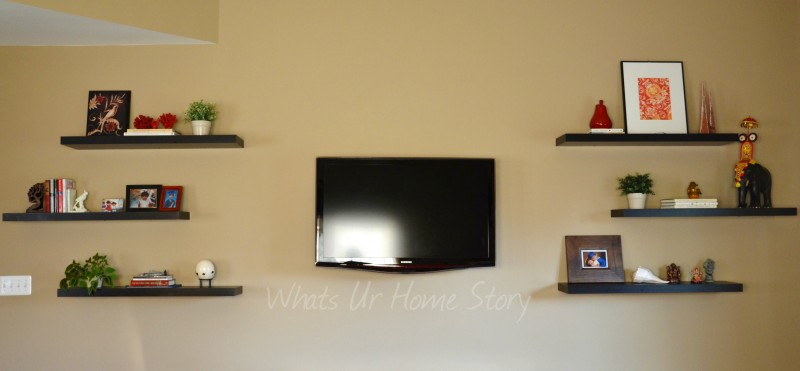 Whats Ur Home Story: Decorating with Floating Shelves, floating shelves