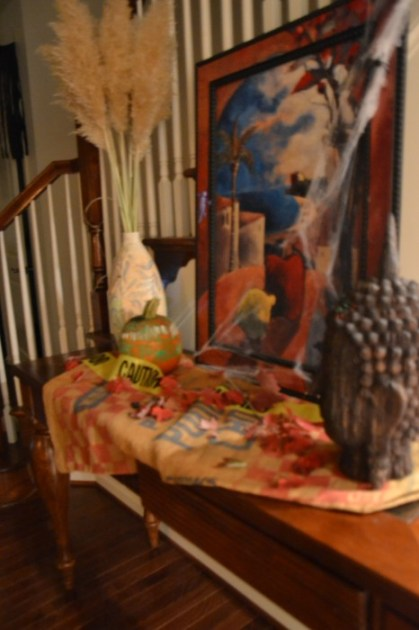 Whats Ur Home Story: Fall console table decor