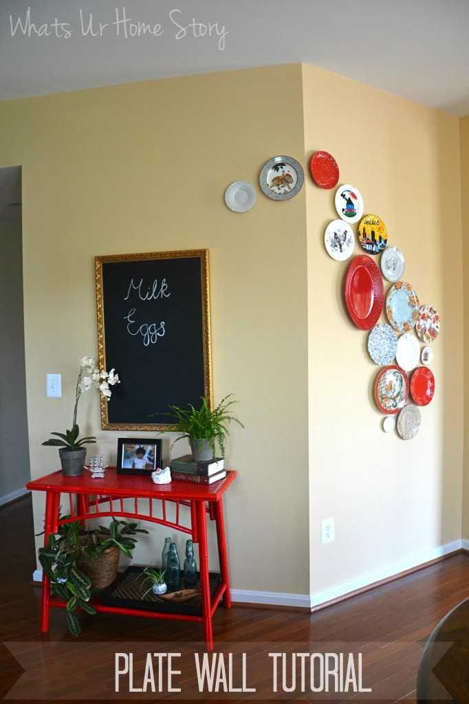 Decorative plate wall, decorating with plates, plate wall tutorial,Decorative plate wall, decorating with plates