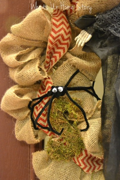 Whats Ur Home Story: Pipe cleaner spiders, easy Halloween craft, diy spider