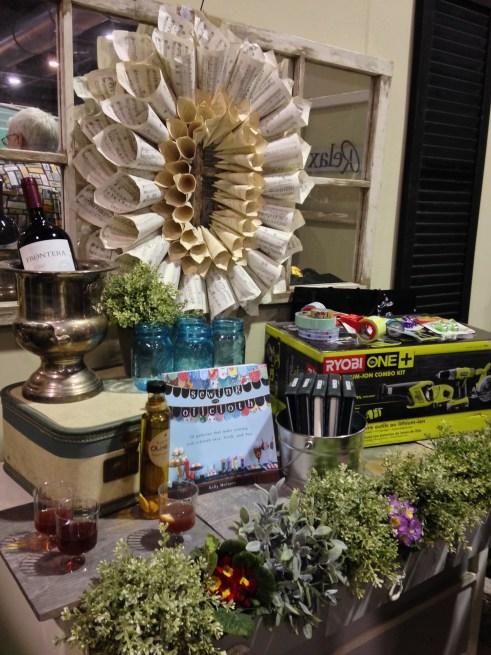philadelphia home show, music book page wreath