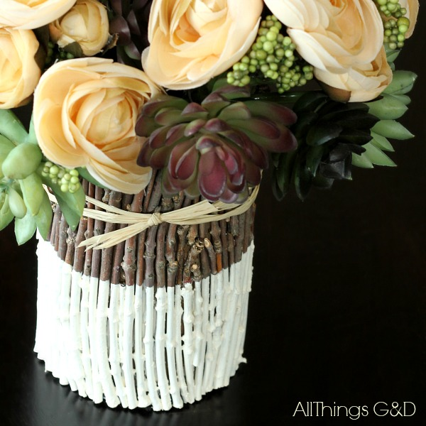 Painted-Stick-Vase