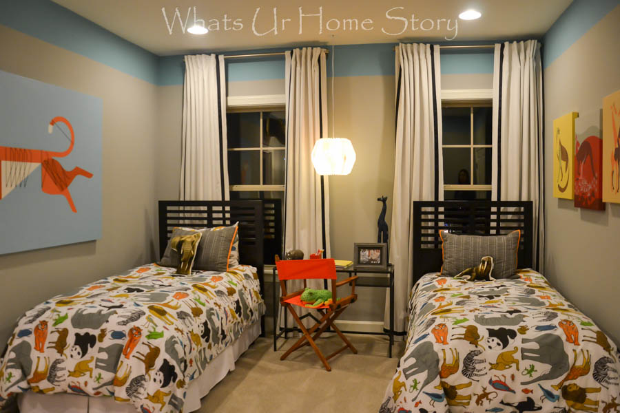 traveller themed boy's bedroom