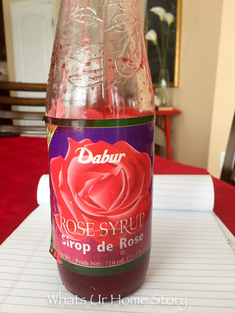 Rose Syrup for making Falooda