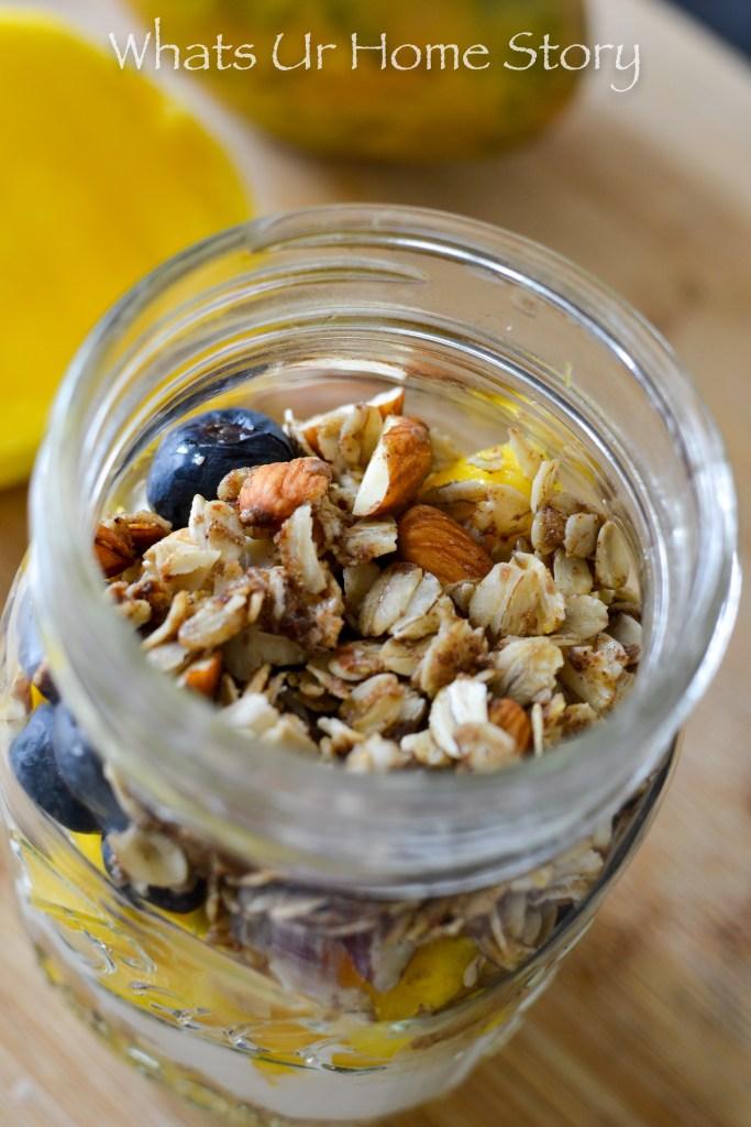Simple and Tasty Blueberry Mango Parfait Recipe