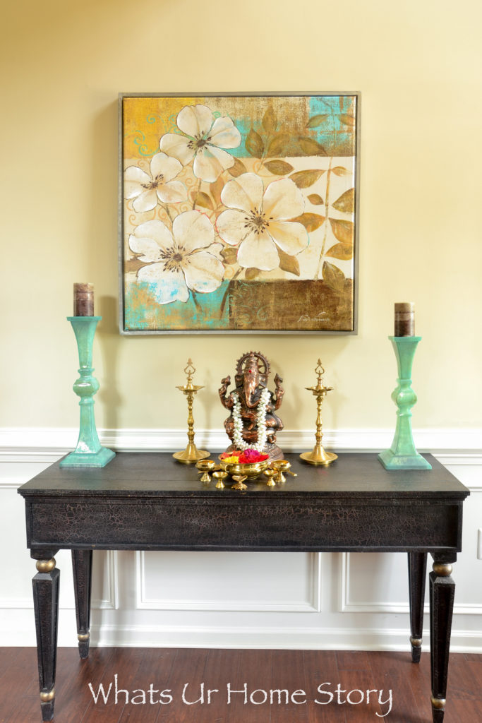 Eclectic Indian home foyer- entry
