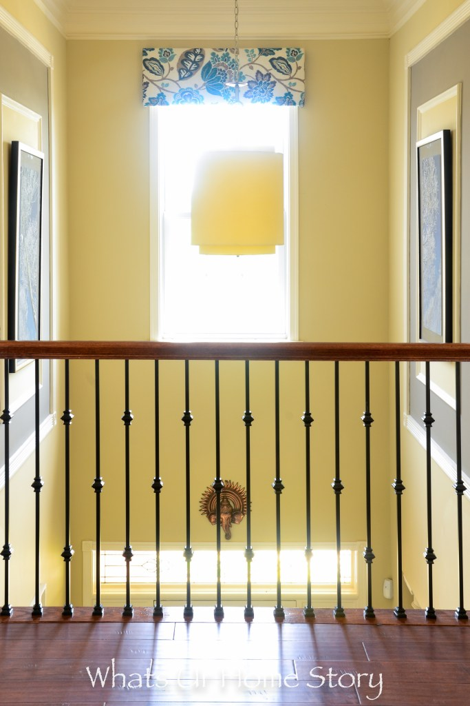 eclectic home tour - two storey foyer open to below