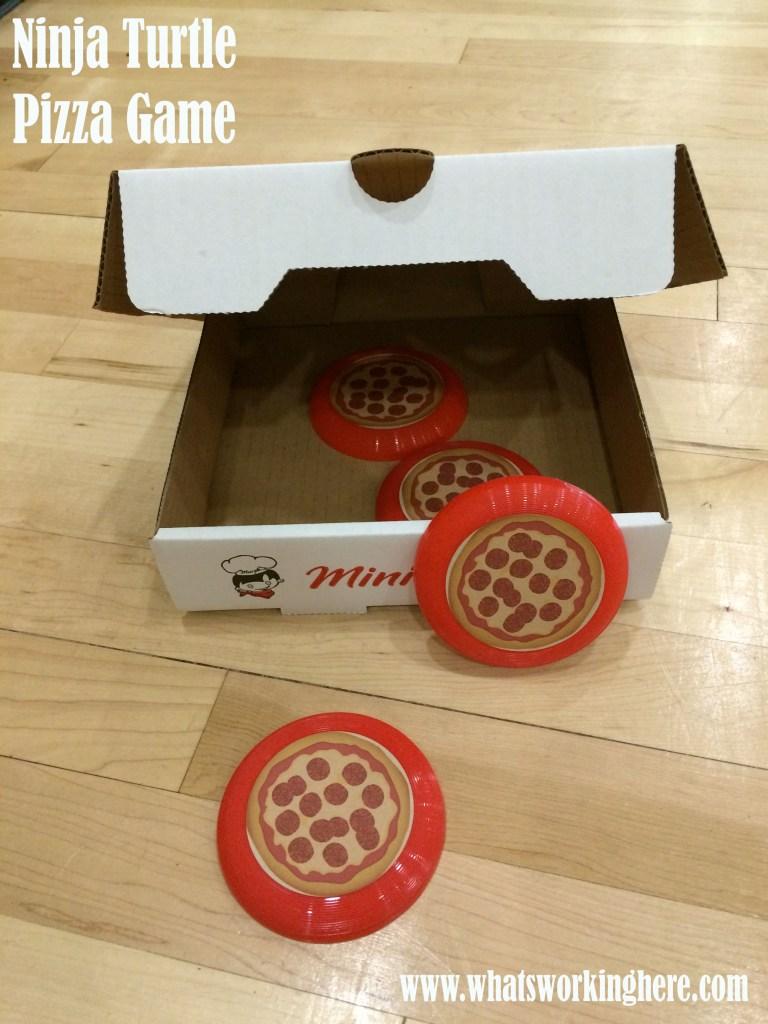 Ninja Turtle Pizza Game