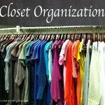 Spring Cleaning: Closet Organization