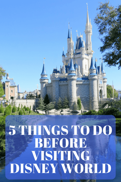 5 Things To Do Before Visiting Disney World