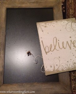 Christmas Light Up Sign Tutorial- light cord