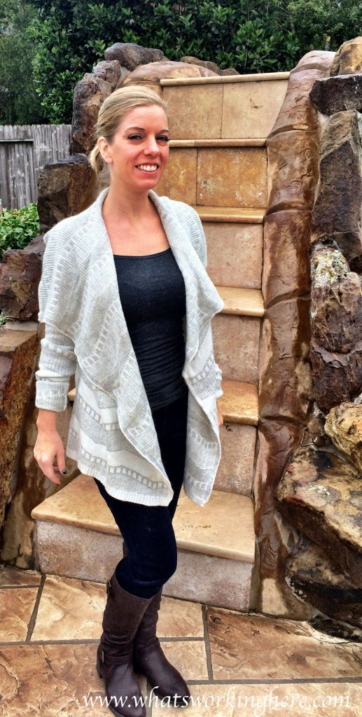 Willow draped cardigan