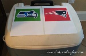Super Bowl Cooler