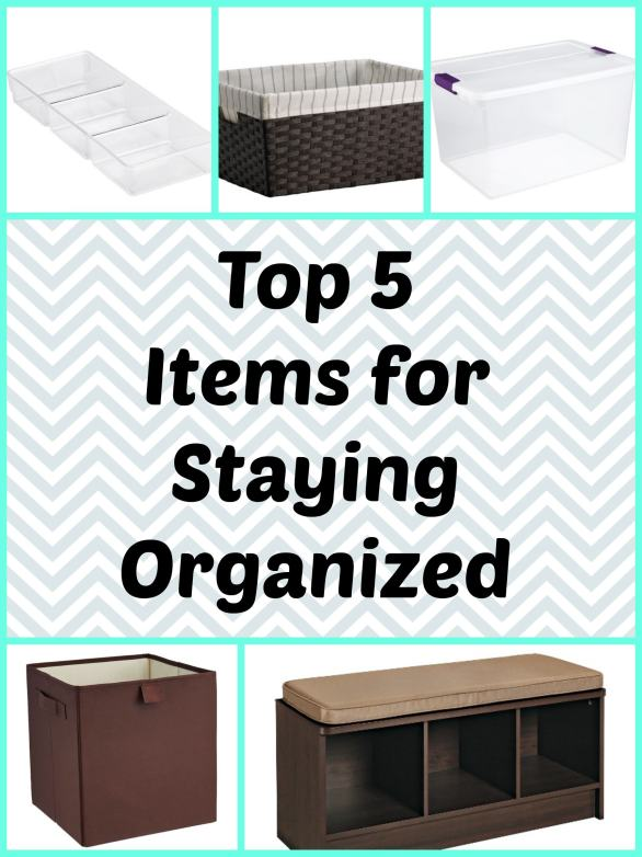 Top 5 Items for Storage Organization