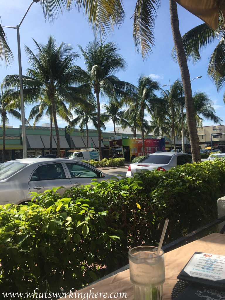 Collins Ave breakfast