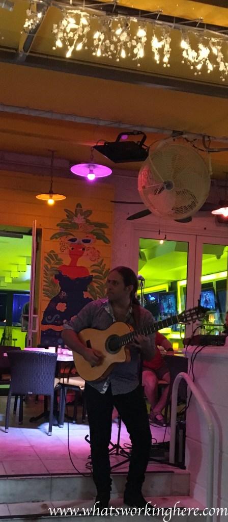 sidewalk cafe singer