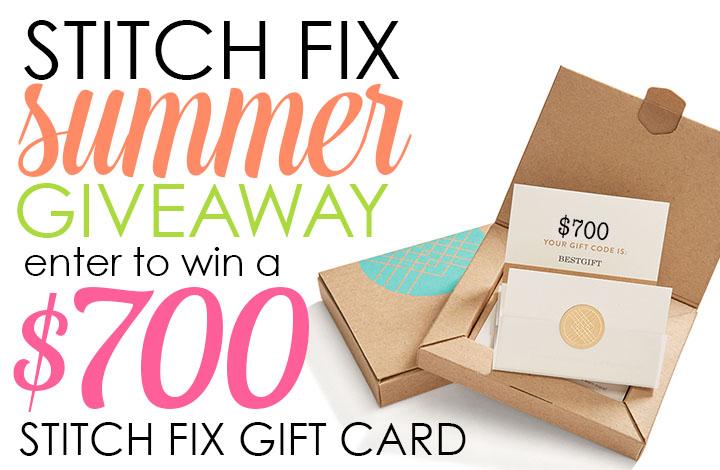 Stitch Fix 700 Summer giveaway
