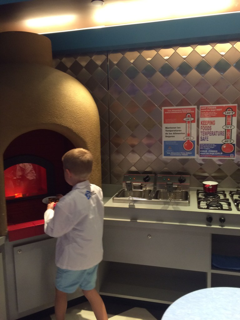 Children's Museum of Houston -chef