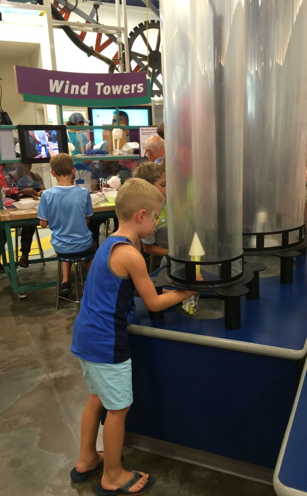 Children's Museum of Houston- wind tower