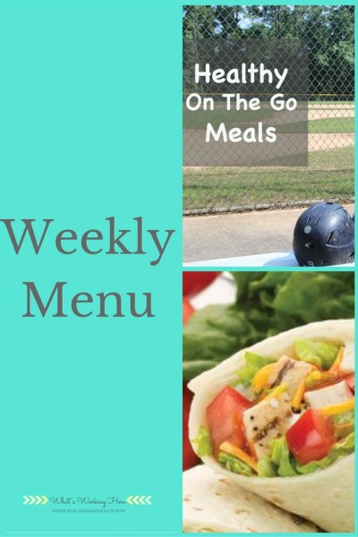March 19th Weekly Menu