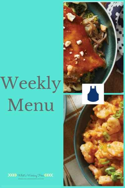 March 5th Weekly Menu