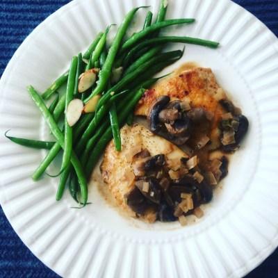 Maria's Gourmet Kitchen -Chicken Marsala