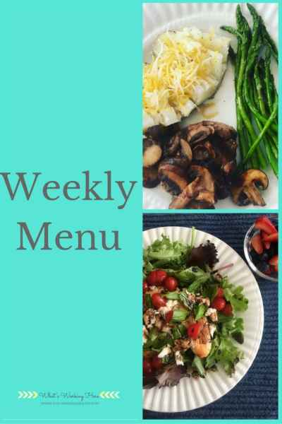 September 17th Weekly Menu