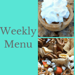 Weekly Menu 11/19/17 – Thanksgiving