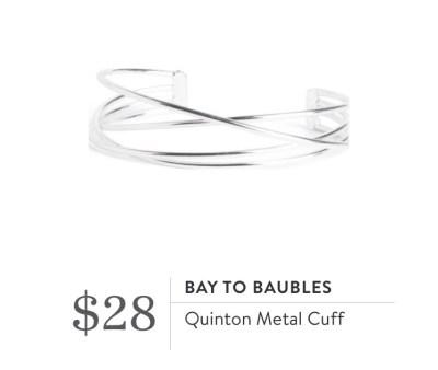 Stitch Fix - Bay to Baubles Metal cuff